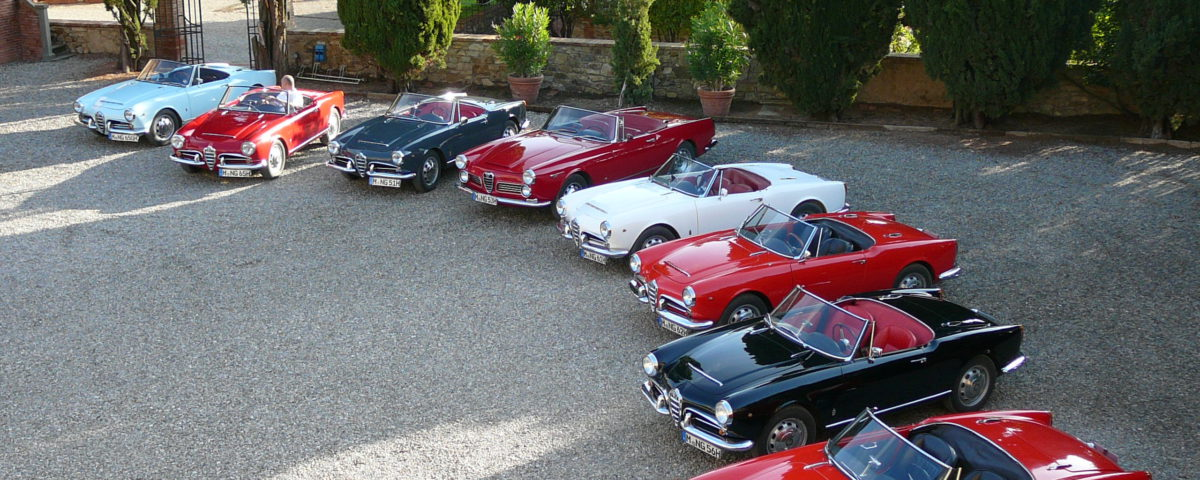 Tuscany vintage and classic cars driving tours | Corporate Retreat