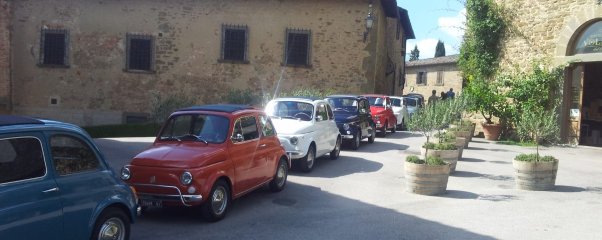 Fiat 500 Tuscany Incentive Travel