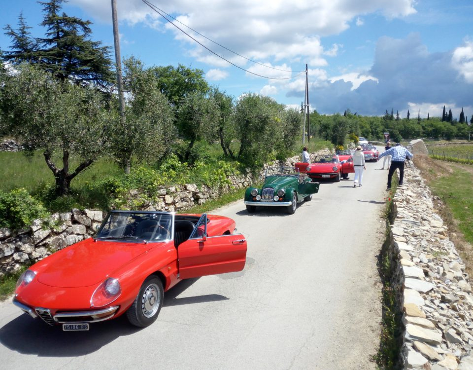3 nights Classic Cars Tuscany Travel Incetives