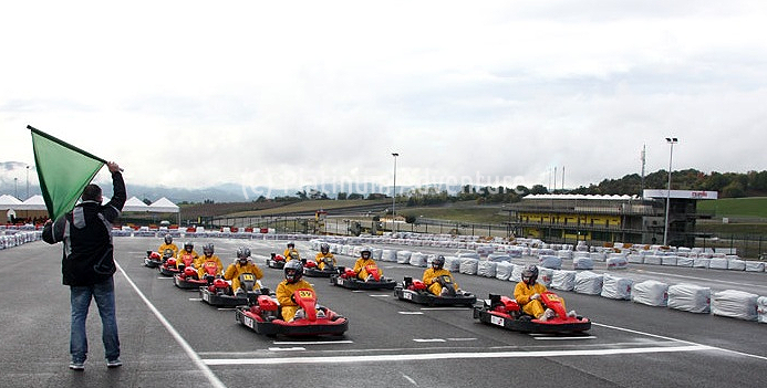 Go Kart Corporate Race