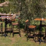 Country Style Cocktail Bar Set Up Tuscany