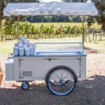 Ice Cream cart rental Tuscany