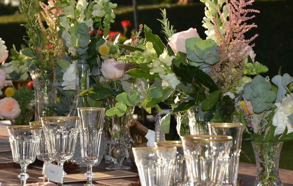Corporate Event Floral Decor